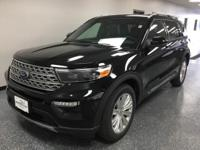 Black 2020 Ford Explorer Limited AWD 10-Speed Automatic