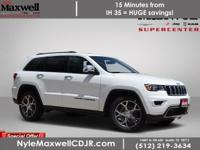 $7,897 off MSRP! 2020 Jeep Grand Cherokee Limited
