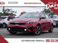 2020 Kia Forte LXS 29/40 City/Highway MPG  4 Speakers