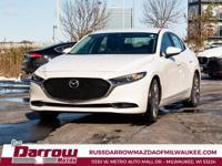 2020 Mazda Mazda3 Preferred Snowflake White Pearl I4