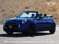 This 2020 MINI Cooper Convertible comes with Carbon