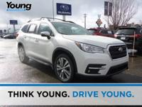 Crystal White Pearl 2020 Subaru Ascent Touring AWD