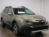 2020 Subaru Outback Limited Green 26/33 City/Highway