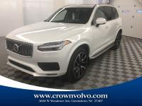 AWD, Blond Leather.Crystal White 2020 Volvo XC90 T6