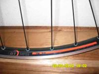 DT Swiss TK 7.1 Rim. Black DT Swiss Spokes and