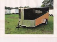 "New 2012 model 6 x 12 ""Harley"" Cargo Trailer Custom"