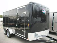 BRAND NEW 7X16 CARGO ENCLOSED TRAILER SUPER CASH DEAL