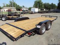 NEW 82 x 18 Car Hauler w/ 2' dove For Sale Full Wrap