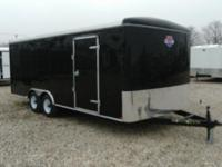 New 8.5 x 20 Enclosed Trailer for sale, stock number