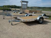 NEW ALUMINUM TRAILERS   SINGLE OR DUAL 3500LB AXLE  15""