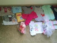 New unused baby girl clothing and accesories for sale!!