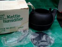 New Black Cast Iron Kettle Humidifier is the vintage