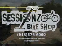 Sessionz Bike Shop is a new bicycle shop that