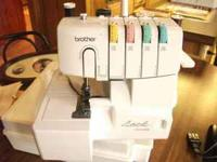 New Serger Brother 1034D with Case I have only tried it