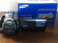 I have a brand (New) HD camcorder for sale with