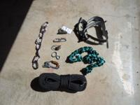 New unused climbing gear. The specifics of the