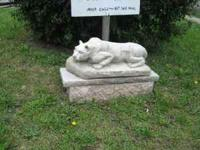 NEW CONCRETE NITTANY LION STATUE 3 FEET LONG, 180 LBS