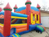 ***Double Bounce House*** A regular bounce house with a