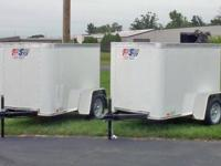 New Group Spirit confined item trailers, 1 White,