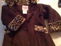 New! A really cute jacket with a pretty fur lining and