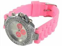 Features: Silicone Ladies Women Jelly Wrist Watch