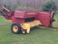 New Holland 315 baler. In great shape. Needs nothing.