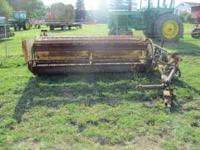 FOR SALE IS A NEW HOLLAND 469 HAYBINE. THE HAYBINE IS