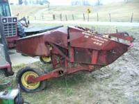 New Holland 489 Haybine, good rubber on rolls, was