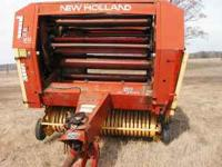 Very good roller, in very good condition, ready to bale