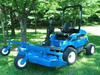 I have a very nice 2001 New Holland MC22 commercial