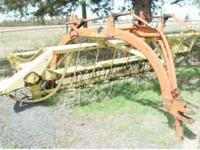 New Holland Rake Model # 256. Is in good condition and