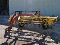 New Holland Rake Model # 256. Good condition and works