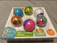 Lion King Balls $10 new never opened. Meet in West