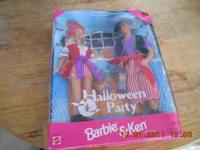 I am selling a Ken and Barbie Halloween Party Gift Set.