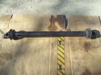 "pto shaft 4"" u-joints extented 60"" collaped 42"" splined"