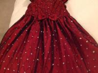 So Cute! New! Size 2-3yrs! Retail $69 Beautiful Ruby