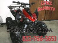 New Mid Size Sports Style ATV 125cc! Fully Assembled!