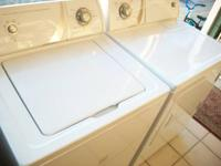 Admiral super capacity washer ad matching dryer $450