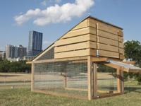 For sale is this new backyard chicken coop. The coop