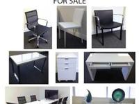BRAND NEW OFFICE FURNITURE FOR SALE Used for less than