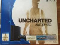 I recently bought new PS4 Uncharted collection, I was