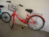 Great bike used once but selling due to sickness.