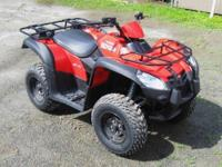 BRAND NEW! REDUCED PRICE! Red, seats 2, 499cc,