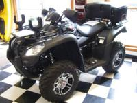 BRAND NEW! Reduced Price! Black with factory installed