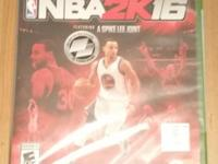 Up for sale is a video game Title Nba 2k16 2016 Brand