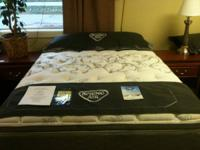 This is a lovely new mattress set by Spring Air, it is