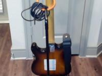 Beautiful, almost new Starcaster Electronic Guitar and