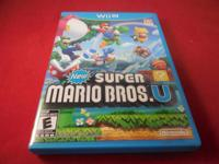 I am selling the New Super Mario Bros. for Wii U. The