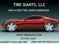 Tire Giants   New & Used Tire Warehouse   8301