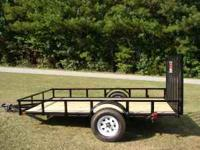 NEW Factory built 5x10=$850.00 6x10=$950.00 utility